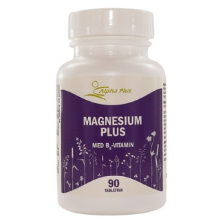 Magnesium Plus 90 tabl - Magnesium Plus 90 tabl Alpha Plus