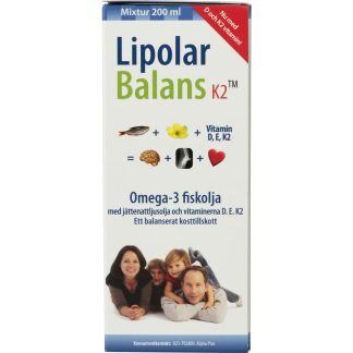 Lipolar Balans K2 - Lipolar Balans K2 Alpha Plus
