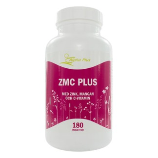ZMC Plus 180 tabletter - ZMC Plus 180 tab Alpha Plus