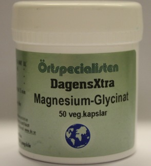 MagnesiumGlycinat 100 kap Örtspecialisten