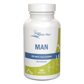 Man 100 tabl Alpha Plus - ManVital Alpha Plus