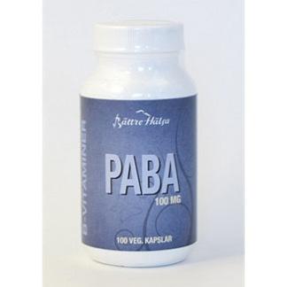 PABA 100 mg Bättre Hälsa