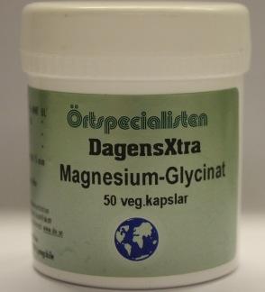 MagnesiumGlycinat 50 kap Örtspecialisten