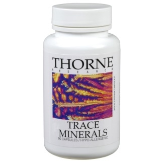 Trace Minerals 90 kapslar Thorne