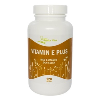 Vitamin E Plus Alpha Plus - Vitamin E Plus Alpha Plus