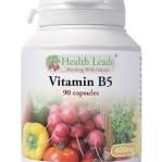 Vitamin B5 400 mg 90 veg kapslar och inget annat...