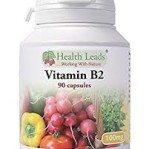 B2 (Riboflavin) 100 mg 90 kapslar