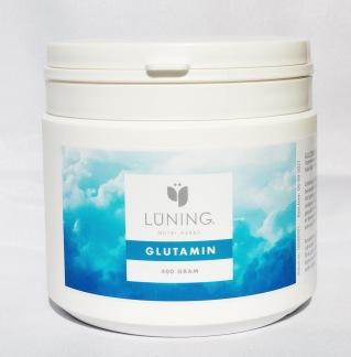 Glutamin 400 g Lüning - Glutamin pulver Lüning