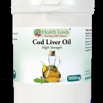 Cod liver oil - Fiskleverolja 120 kapslar