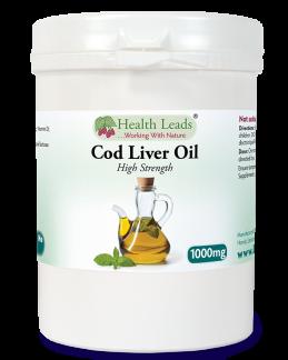 Cod liver oil - Fiskleverolja 120 kapslar -