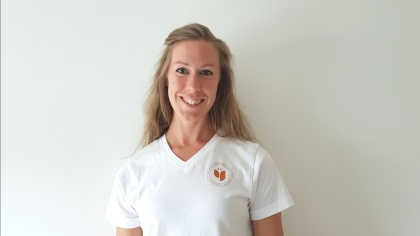 Sara Ivarsson, lymfmassör och yogainstruktör