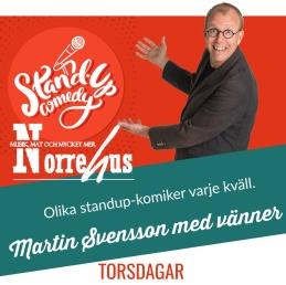 Standup på Norrehus 29/3 - Standup på Norrehus- endast SHOW