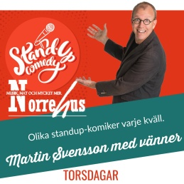 Standup på Norrehus 19/4 - Standup på Norrehus- endast SHOW