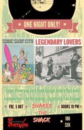 5/10 Sonic Surf City & Legendary Lovers - Konsert