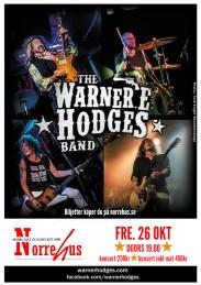 26/10 Warner E Hodges Band - Konsert