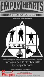 13/10 Empty Hearts - återkomsten - Konsert