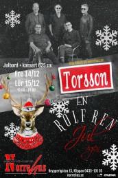 15/12 Torsson & Rolf Ren firar jul - 15/12 Torsson julbord + konsert