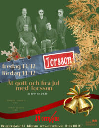 Torsson+julbord Lör 14/12 -