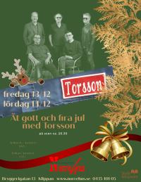 Torsson ENDAST KONSERT Lör 14/12 -