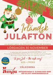 Irländsk julafton+julbord  30 nov -