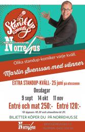 11/11  Standup på Norre