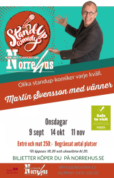 9/9 Standup på Norre - 9/9  Standup på Norre ENTRE och MAT