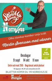 11/11  Standup på Norre - 11/11  Standup på Norre ENTRE och MAT