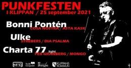 25/9 Punkfest i Klippan 2021 - akustisk - 4 pers bord inkl mat & entré 4 personer
