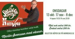 17/11  Standup på Norrehus