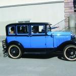 Blå Ford 1931