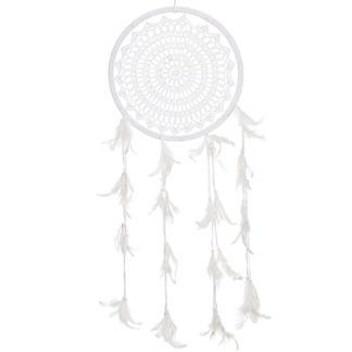 Drömfångare virkad, vit