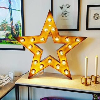 Lampa - Stjärna