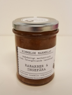 Himmelsk Marmelad - Rabarber & Ingefära