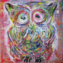 Confused Owl By Denmark - Gicleétryck