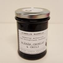Himmelsk Marmelad - Blåbär, Choklad & Chili