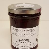 Himmelsk Marmelad - Hallon & Lakrits