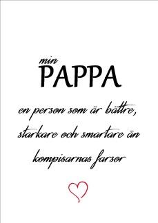 Print - Min pappa