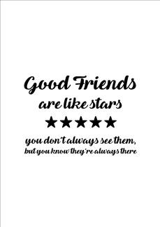 Print - Good Friends