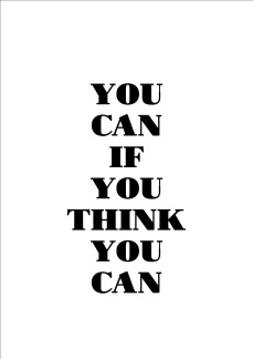 Print - You can if you think...
