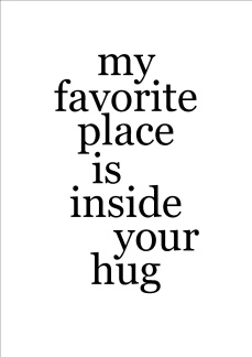 Print - My favorite place is...
