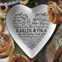 Kärlek & Fika, Fat - hjärta