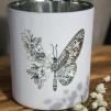 Butterfly, flower - Vit