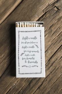 Tändstickor, Light a Candle -