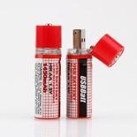Kraftiga USB Batterier (AA)