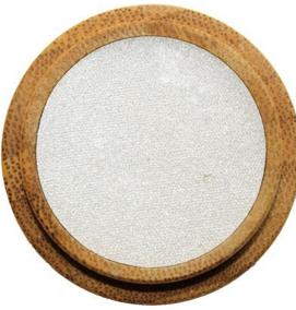 Ögonskugga Pearly White- Ekologisk - Pärlemorögonskugga