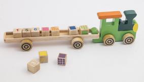 Lär Siffror & färger 2-Pack - Tågsett 2 Pack