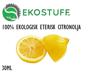 Ekologiska Eteriska Oljor - Citronolja, Ekologisk 30ML