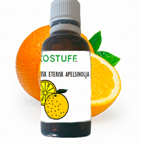 Ekologiska Eteriska Oljor - Apelsinolja , Ekologisk 30ML