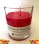 Handgjorda Ekologiska Sojaljus - Plommon & Rabarber 315 gram