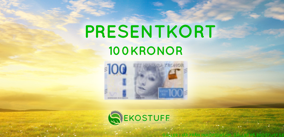 Ekologiska Presentkort! - 100kronor